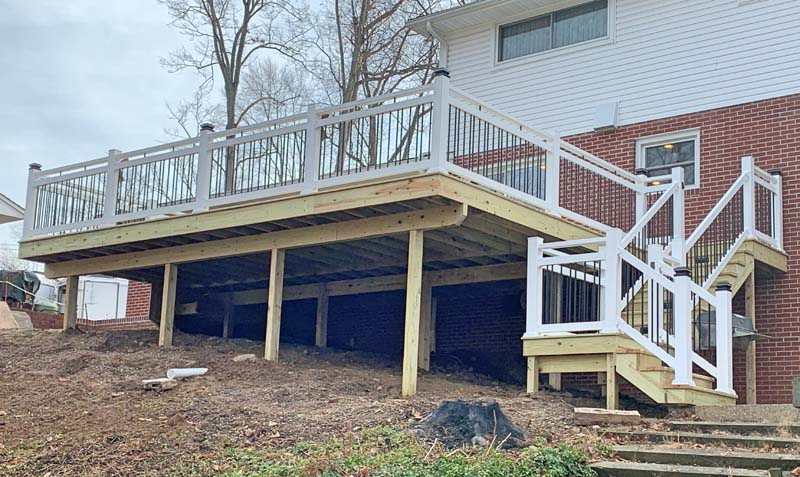Stellar Construction - Wood Decks Decks
